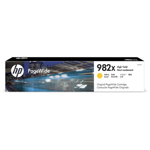 HP 982X High Yield Yellow PageWide Ink Cartridge