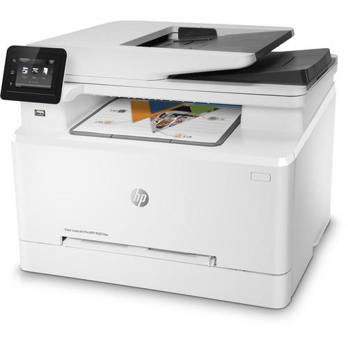 HP LaserJet Pro M281fdw Color Laser All-in-One Printer