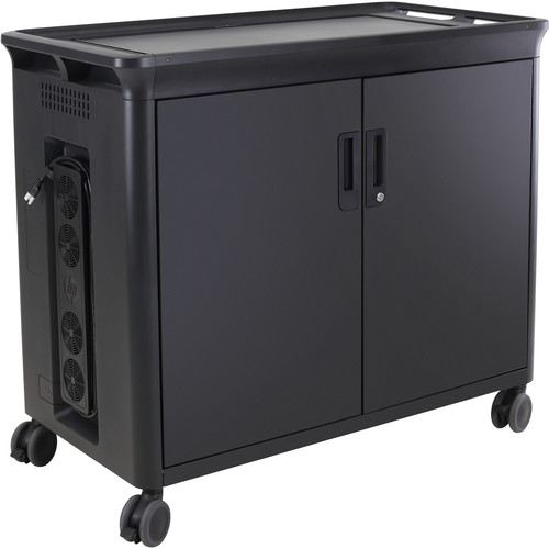 HP Managed Charging Cart V2 for Up to 30 Tablets/Notebooks