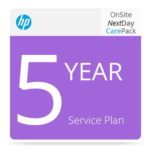 HP 5-Year Next Business Day Onsite Hardware Support