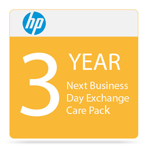 HP 3-Year Next Business Day Exchange Care Pack for Color LaserJet M452 Series Printers