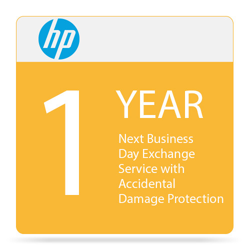 HP Next Business Day Exchange Service with Accidental Damage Protection (1-Year)