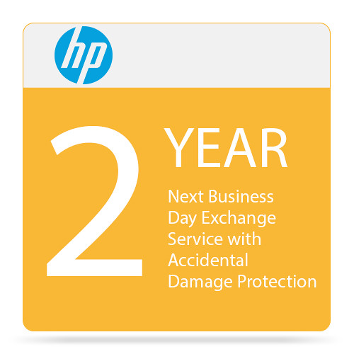 HP Next Business Day Exchange Service with Accidental Damage Protection (2-Year)