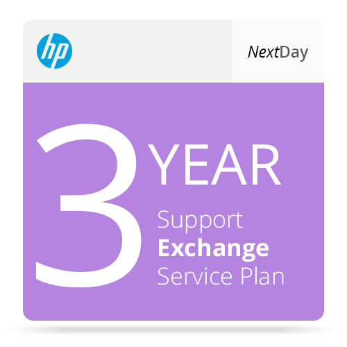 HP 3-Year Next Business Day Parts Exchange Service for Color LaserJet Enterprise MFP M68x Series Printers