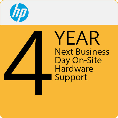 HP 4 Yr Next Day Onsite Hardware Support