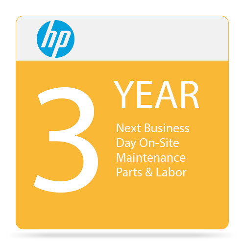 HP 3-Year Next Business Day Onsite Hardware Support for HP Notebooks