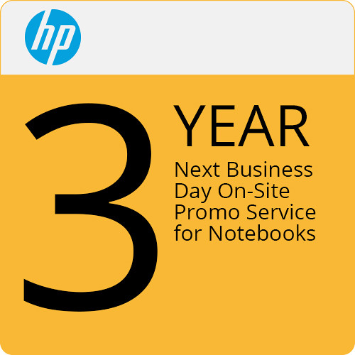 HP Hp 3 Year Next Business Day On-Site Promo NB Only Service