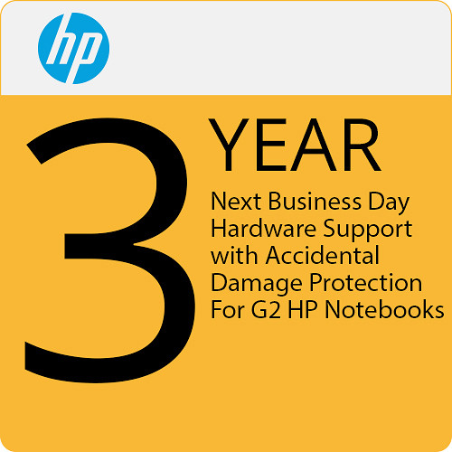 HP HP 3-Year Next Business Day Onsite Hardware Support W/Adp-G2 For Hp Notebooks