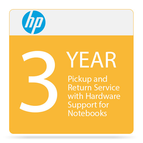 HP 3-Year Pickup and Return Service with Hardware Support for Notebooks
