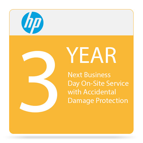 HP 3-Year Next Business Day Onsite Hardware Support with Accidental Damage Protection for Notebooks