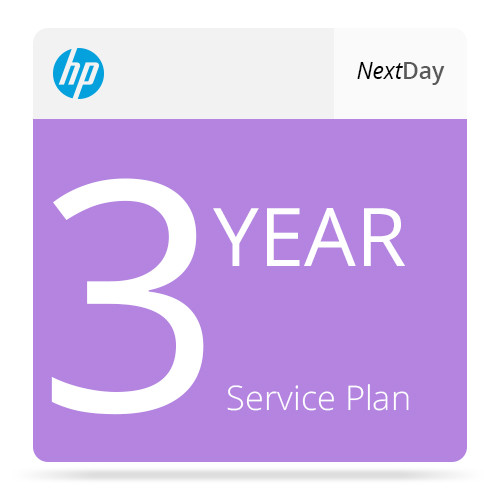HP 3-Year Next Business Day Onsite & Defective Media Retention Service