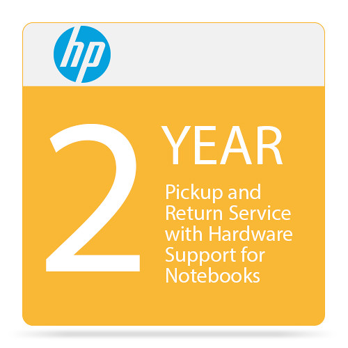 HP 2-Year Pickup and Return Hardware Support for Notebooks