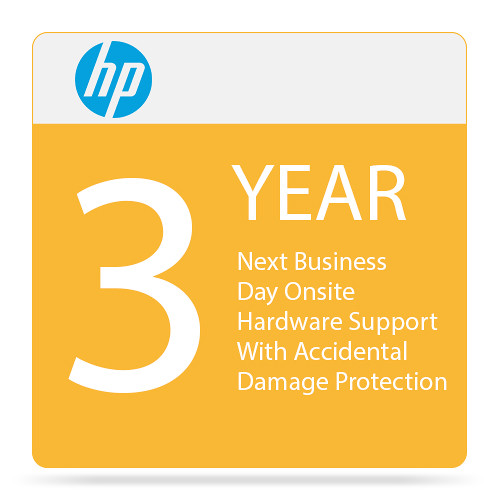 HP 3-Year Next Business Day Onsite Hardware Support with Accidental Damage Protection G2 & Defective Media Retention for Notebooks
