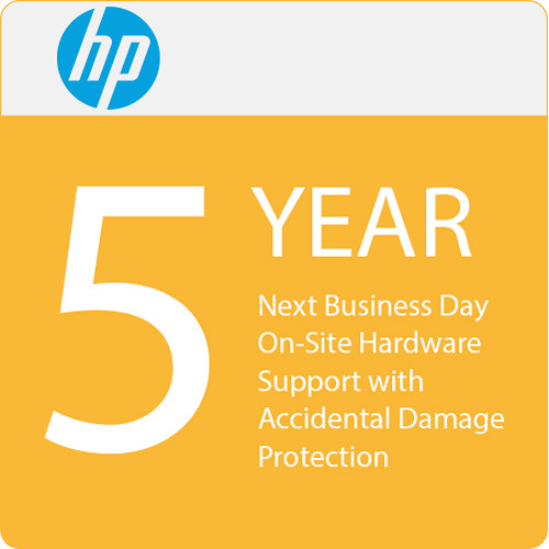 HP 5-Year Next Business Day Onsite Hardware Support with Accidental Damage Protection G2 for Notebooks