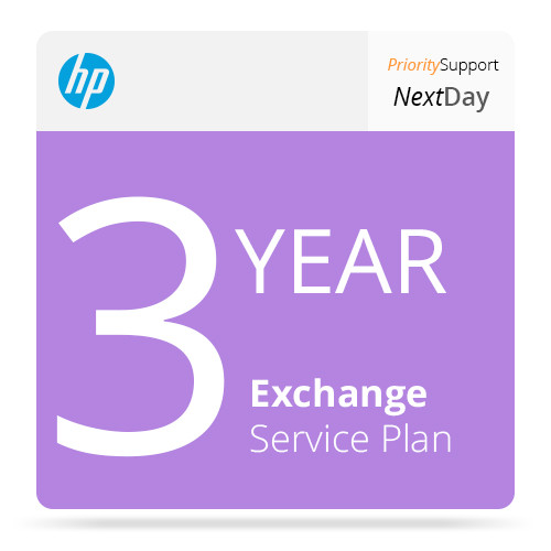 HP 3-Year Next Business Day Exchange Service with Priority Support