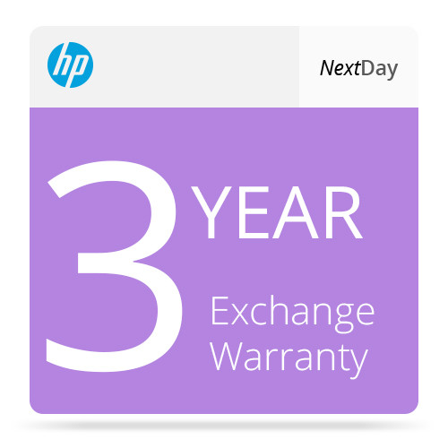 HP 3-Year Care Pack Business Priority Support with Next Business Day Exchange for LaserJet Printers (Electronic Download)