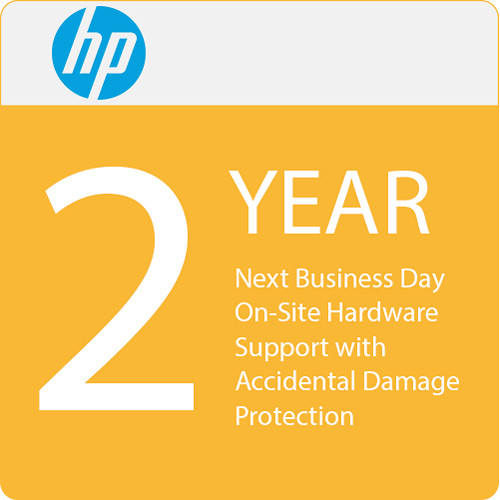 HP 2-Year Next Business Day Onsite Hardware Support with Accidental Damage Protection G2 for Notebooks