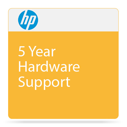 HP 5-Year Next Business Day Onsite Hardware & DMR Support for DesignJet Z5200 Printer
