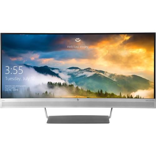 "HP EliteDisplay S340c 34"" 21:9 Curved LCD Monitor"