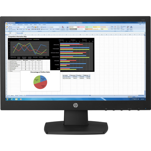 "HP V223 21.5"" 16:9 LCD Monitor (Smart Buy)"