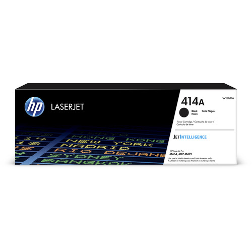 HP 414A Black LaserJet Toner Cartridge