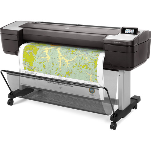 "HP 44"" Designjet T1700 Large Format Printer Color Ink-Jet"