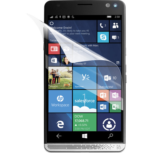 HP Anti-Fingerprint Screen Protector for Elite x3 (3-Pack)