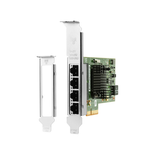 HP 1GB 4-Port Intel Ethernet I350-T4 PCIe Card
