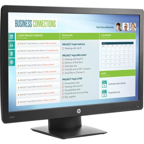 """HP ProDisplay P223 21.5"""" 16:9 LCD Monitor"""