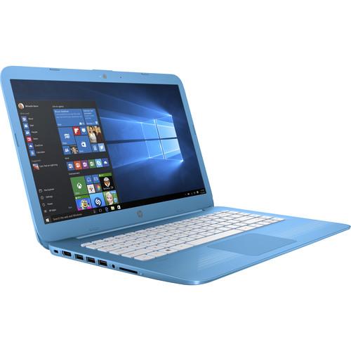 "HP 14"" Stream 14-ax010nr Laptop (Aqua Blue)"