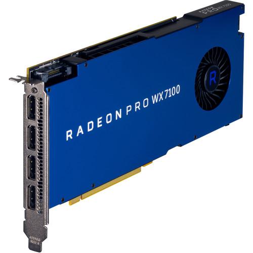 HP Z0B14AT Radeon Pro WX 7100 Graphics Card