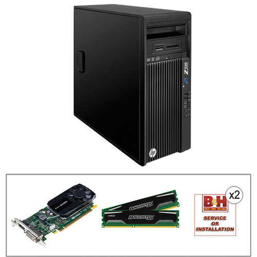 HP Z230 F1L54UT Workstation with 12GB RAM and Quadro K620 Graphics Kit