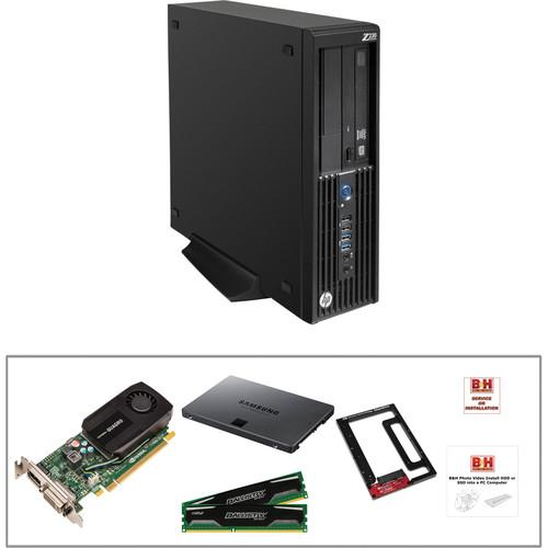 HP Z230 F1K95UT Workstation with 250GB SSD, 20GB RAM, and Quadro K600 Kit