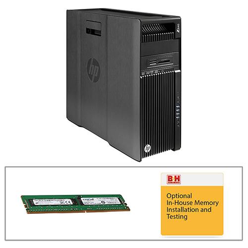 HP Z640 Series F1M59UT Turnkey Workstation with 16GB RAM