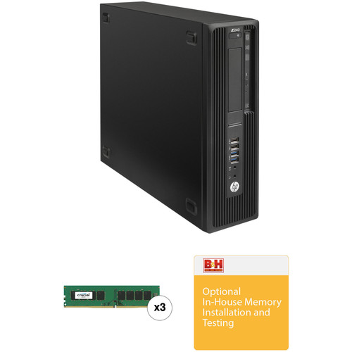 HP Z240 Series Small Form Factor B&H Custom Workstation