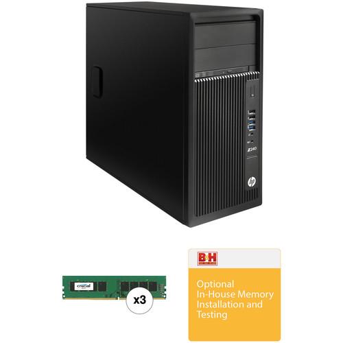 HP Z240 Series Turnkey Workstation with 32GB RAM