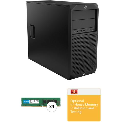HP Z2 G4 Series Tower B&H Custom Workstation