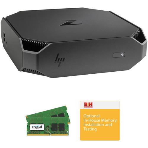 HP Z2 Mini G3 Desktop B&H Custom Workstation