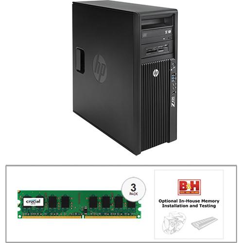 HP Z420 Series F1M14UT Turnkey Workstation with 16GB RAM