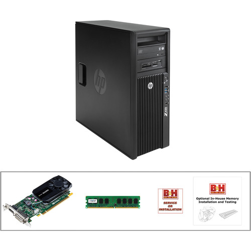 HP Z420 F1L02UT Turnkey Workstation with 8GB RAM and Quadro K620 Graphics