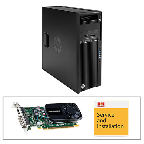HP Z440 Series F1M47UT Turnkey Workstation with PNY Quadro K620 Graphics Card