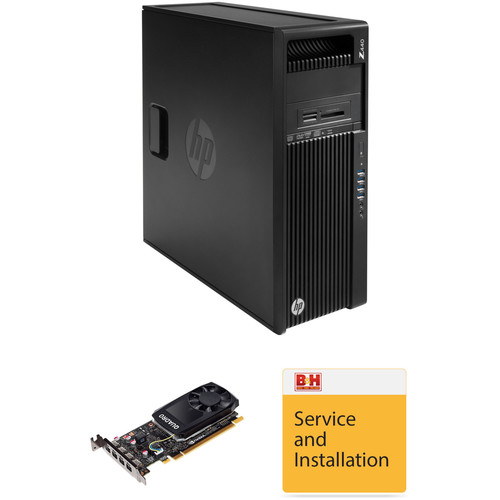 HP Z440 Series Tower B&H Custom Workstation