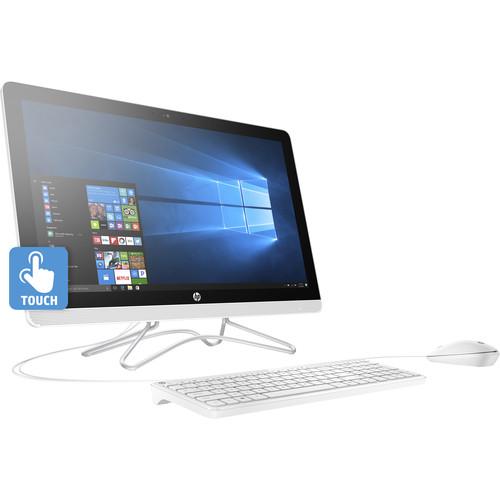 "HP 23.8"" 24-e030 Multi-Touch All-in-One Desktop"