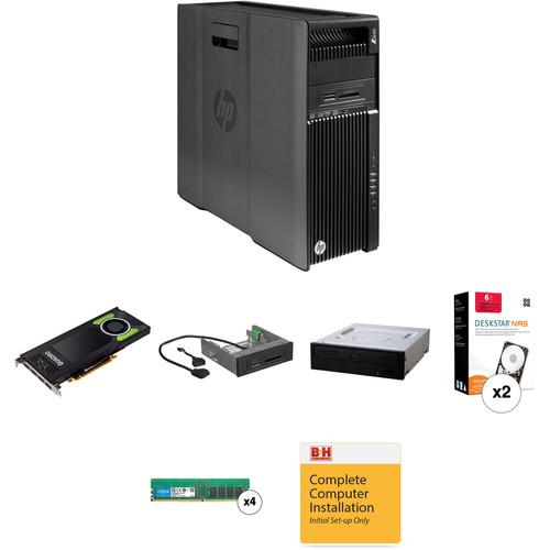 HP Z640 Rackable Minitower B&H Custom Workstation