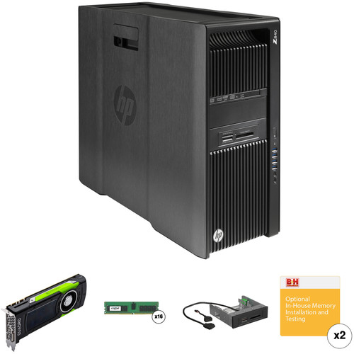 HP Z840 Series Rackable Minitower B&H Custom Workstation