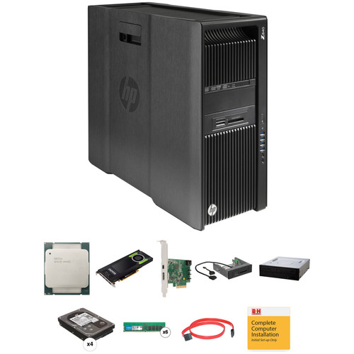 HP Z840 Series Rackable Minitower B&H Custom Workstation