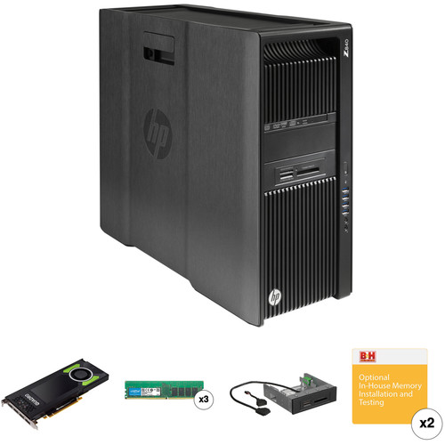 HP Z840 Series Tower B&H Custom Workstation