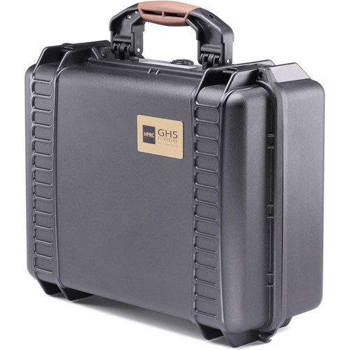 HPRC 2460 Hard Case for Panasonic Lumix GH5 (Black, Foam)