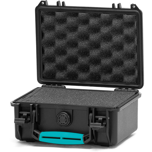 HPRC 2100F Hard Case with Foam (Black with Blue Handle)