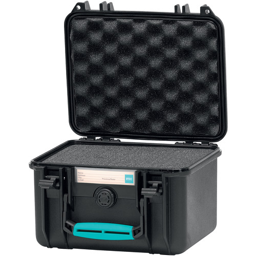 HPRC 2250F Hard Case with Foam (Black with Blue Handle)